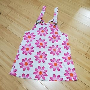 Other - Flower Overall Dress.
